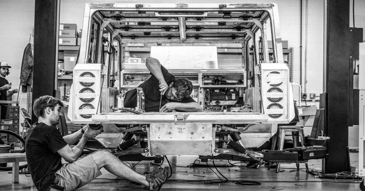 Bollinger Motors about to reveal the off-road model on this September
