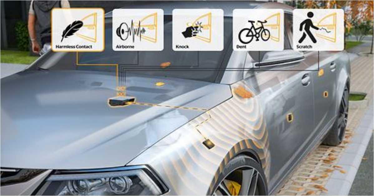 Continental has Introduced a New Multi-Purpose Contact Sensor to Improve the Safety of Automated Parking