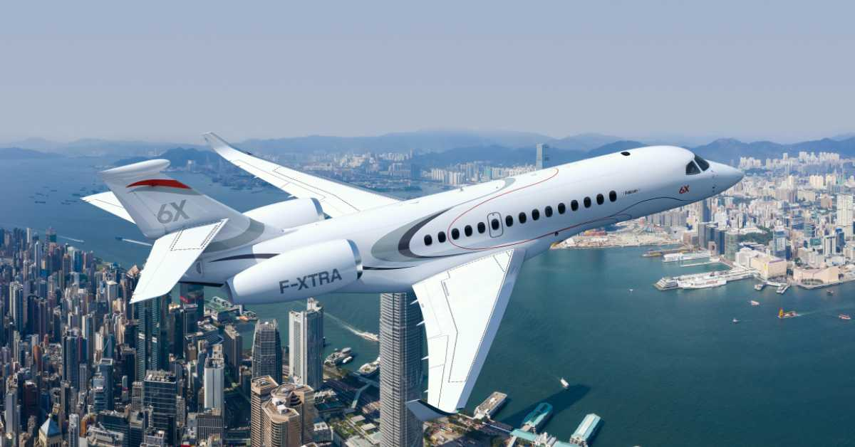 Dassault selected Meggitt for braking and tyre pressure monitoring systems on Falcon 6X