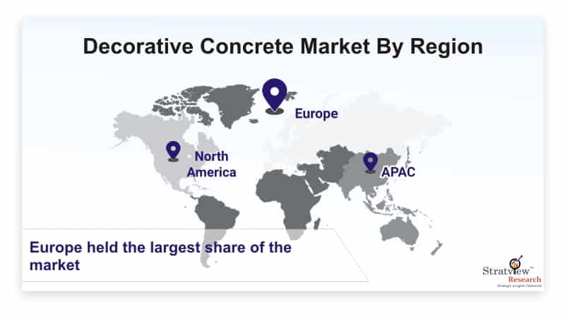 Decorative Concrete Market to Witness Mounting Growth in Approaching Time
