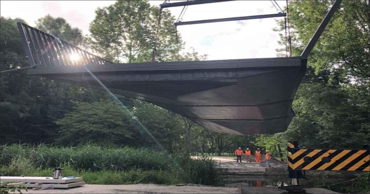 FiberCore SIS come up with FRP Bridge in Rotterdam