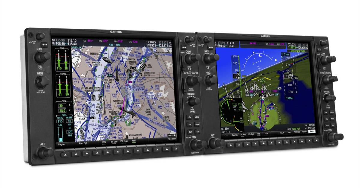 Garmin will Certify GFC 600H Helicopter Flight Control System for the Bell 505 Jet Ranger X