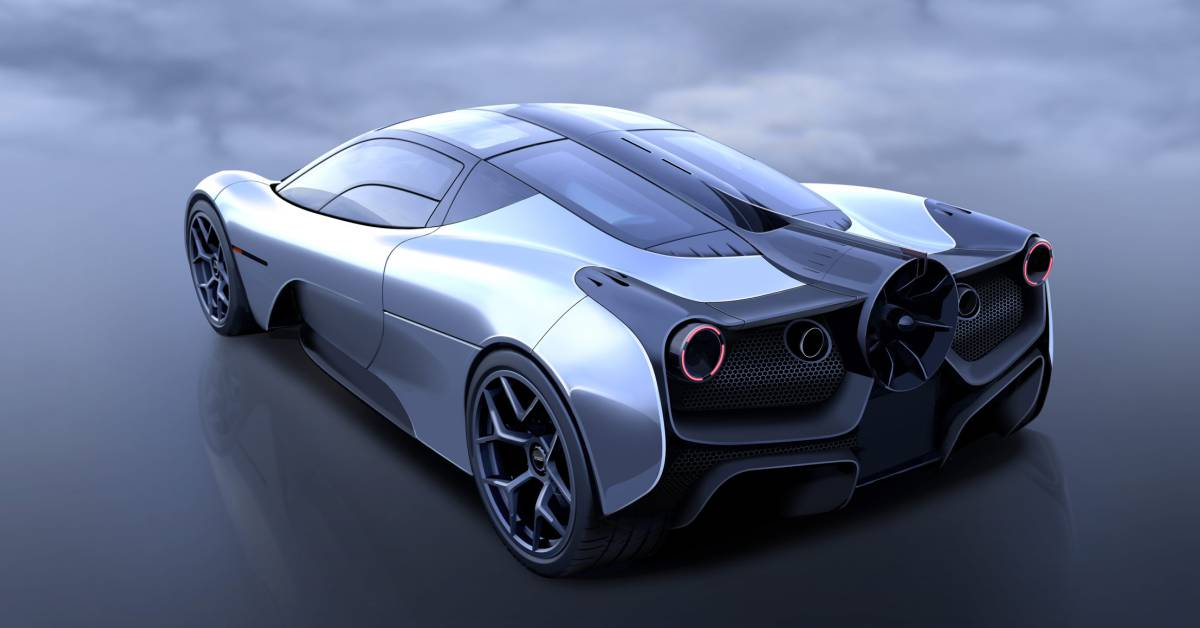 Gordon Murray has Partnered with Racing Point Formula One Team for Advanced Aerodynamics in its Supercar