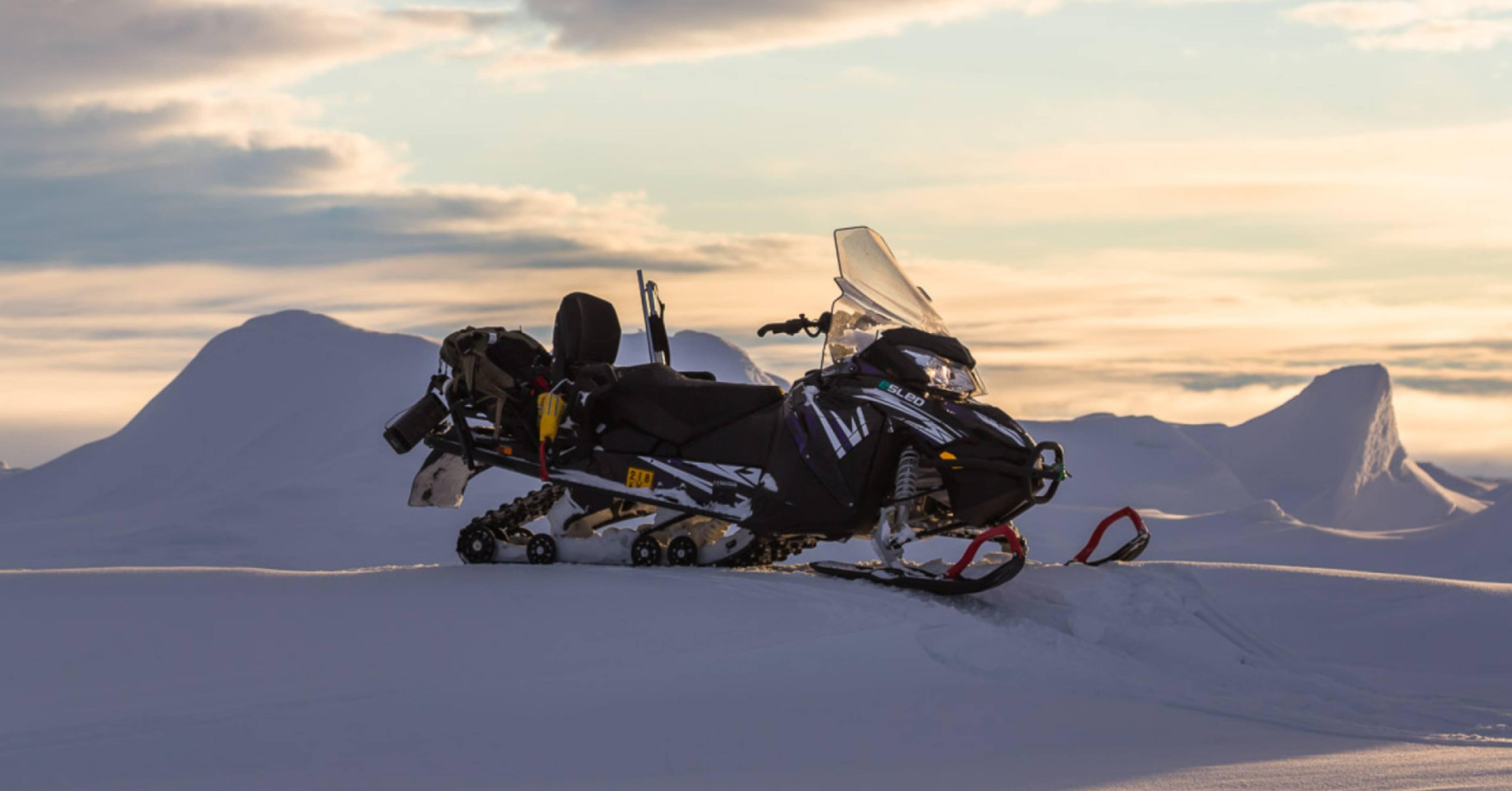 Hurtigruten Introduces New Battery Powered Snowmobiles