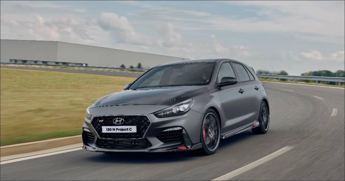 Hyundai Displays its i30 N Project C at 2019 Frankfurt Motor Show