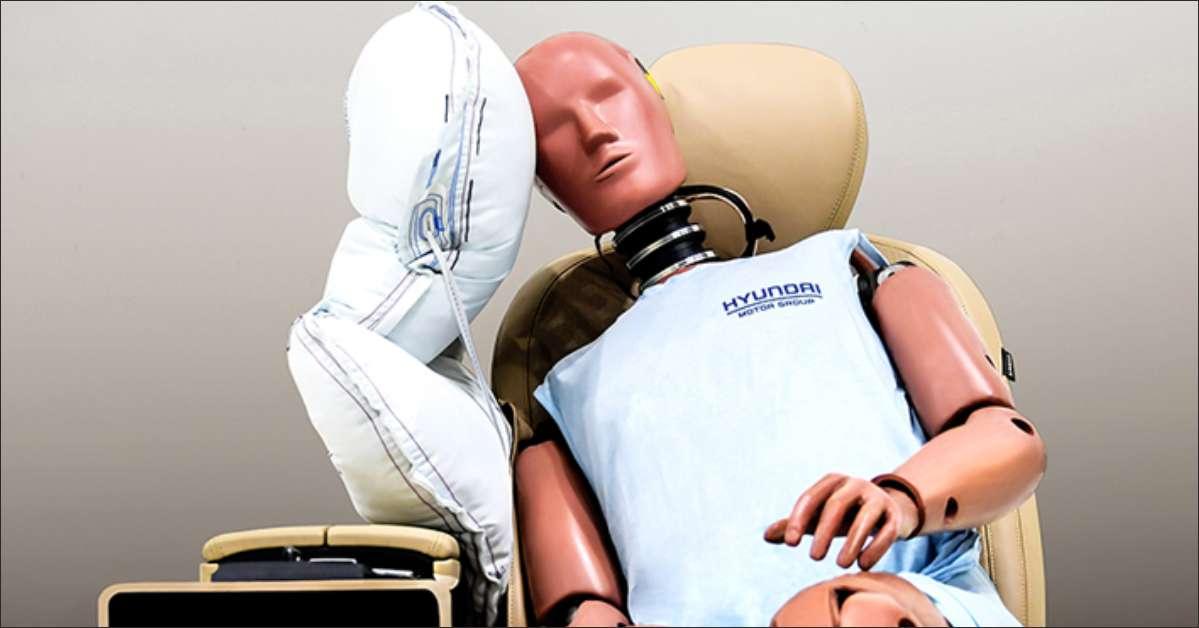 Hyundai Motor Group Developed Center Side Airbag