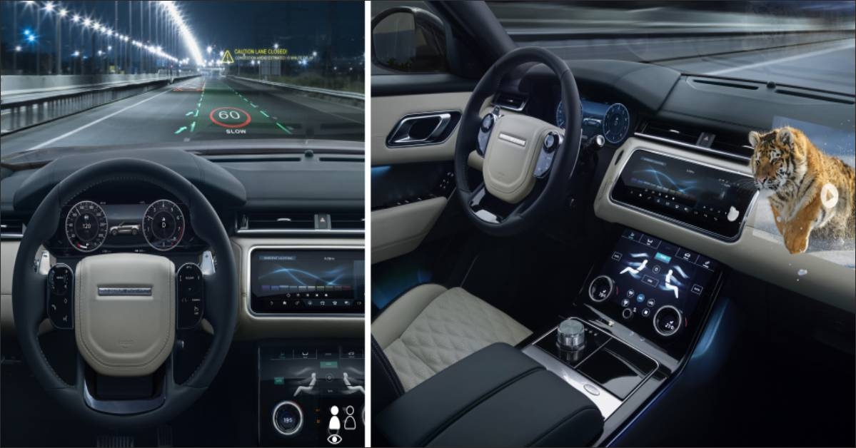 Jaguar Land Rover introduces Head-Up Display technology for 3D in-car experience