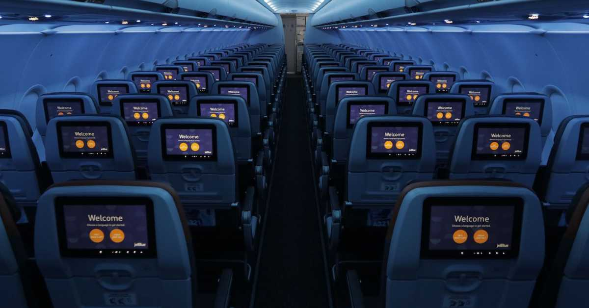 JetBlue Reveals the Cabin Interior of its New A321Neo Aircraft