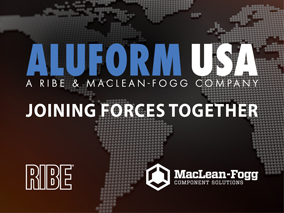 MacLean-Fogg and RIBE Announce Joint Venture of Aluform USA LLC