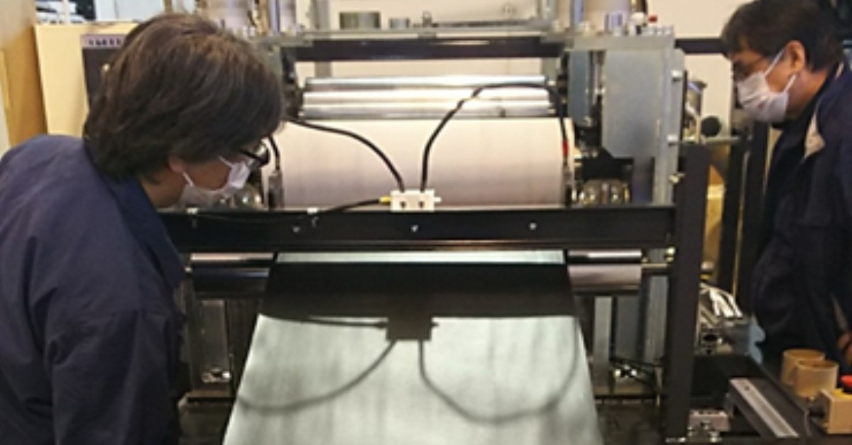 MaruHachi Installs New UD Tape Line focusing High-End Applications