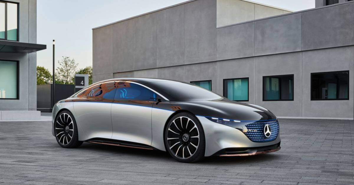 Mercedes Benz Sets a Milestone in a New Era for the Automobile with Its VISION EQS