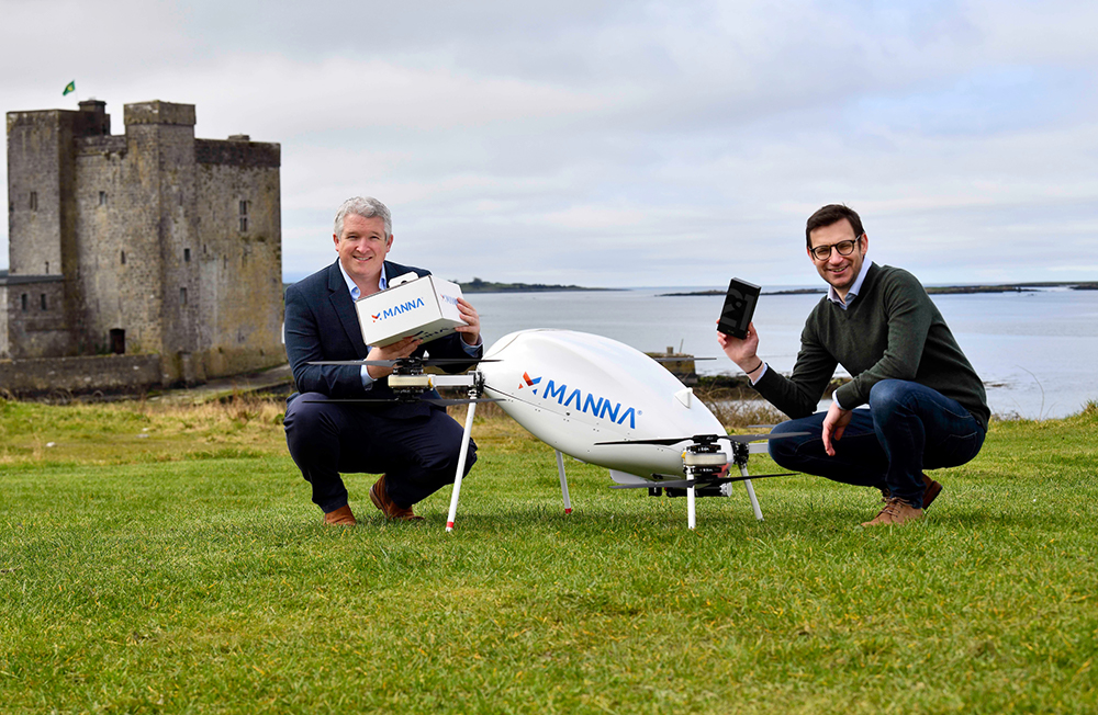 Samsung Galaxy takes to the skies with Irish drone delivery service