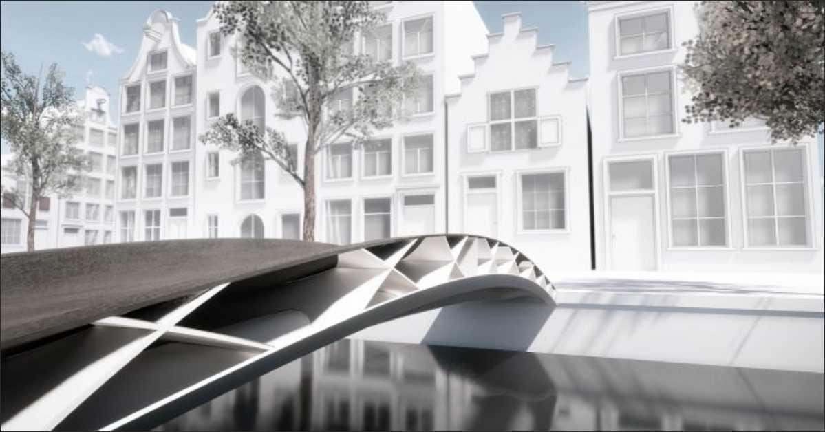 The First Lightweight 3D FRP Bridge Introduced