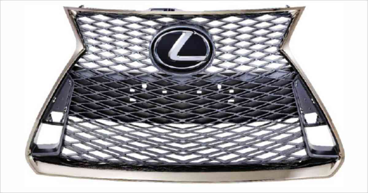 Toyoda Gosei has Developed Radiator Grille for the Sporty Vehicle Exterior