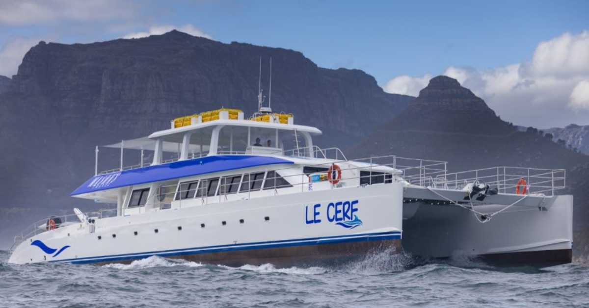 Two Oceans Marine launches the biggest composite Catamaran of South Africa