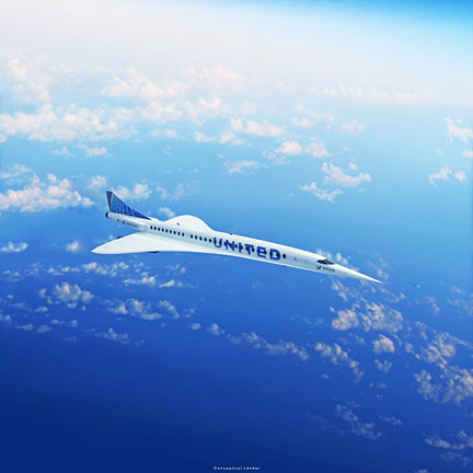 UNITED to buy aircrafts from BOOM Supersonic