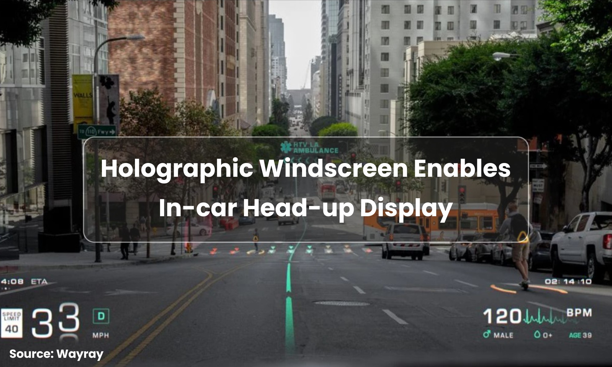 WayRay aims to replace car dashboards with holographic displays
