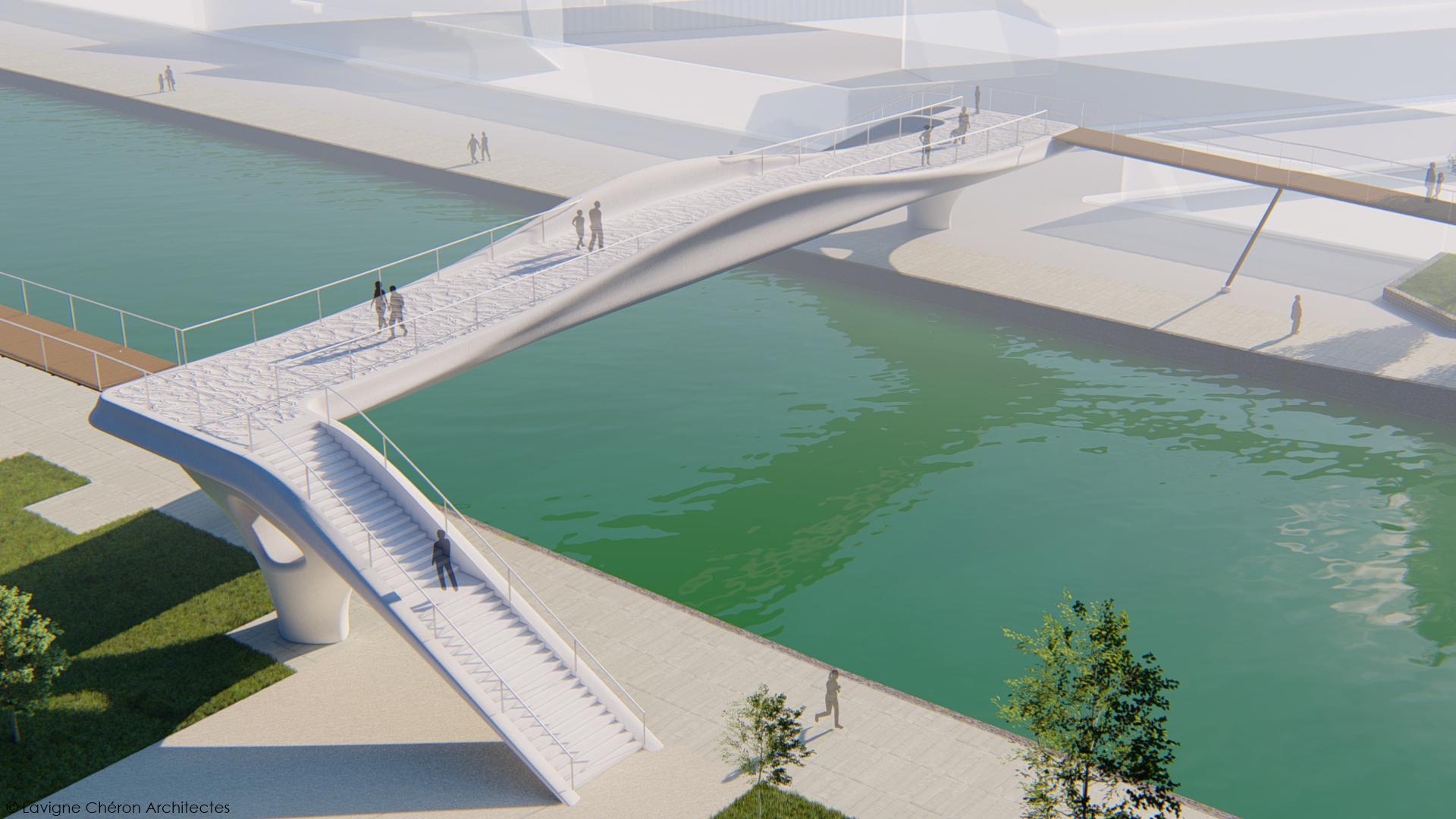 XTREEE TO 3D PRINT PEDESTRIAN BRIDGE FOR 2024 PARIS OLYMPIC GAMES